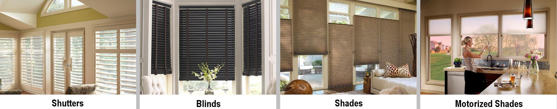 Shutters Blinds and Shades