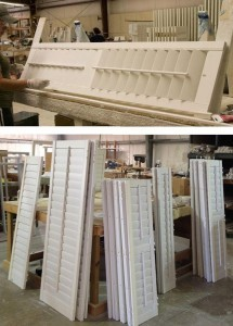 Custom Built Wood Shutters