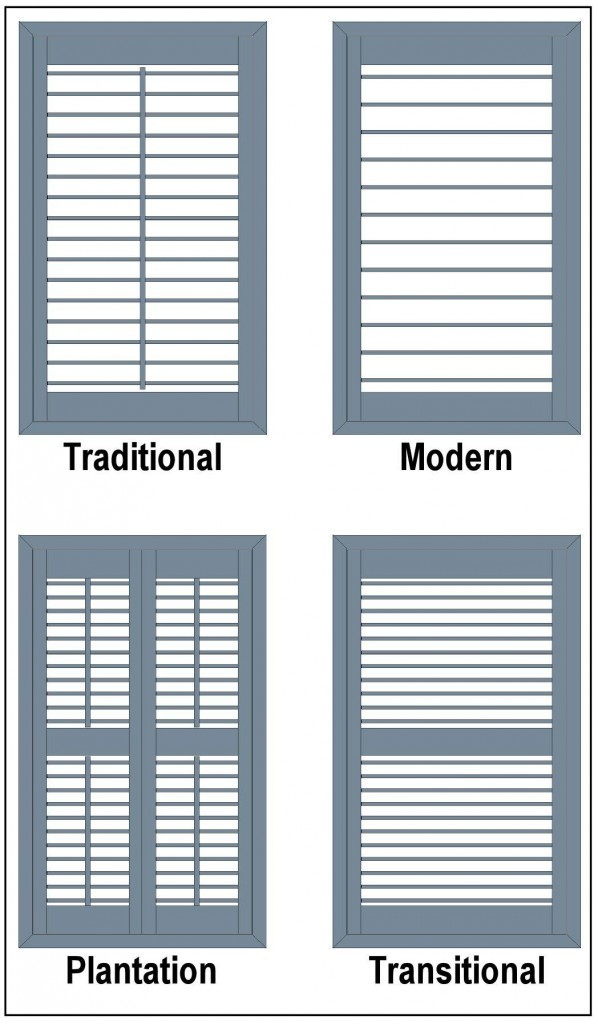 Styles of Wood Shutters