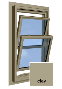 Clay Window Frame Color