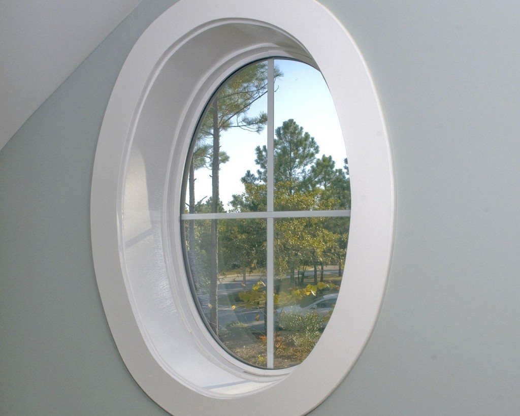 Geometric Shaped Windows