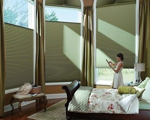 Motorized Shades in a home