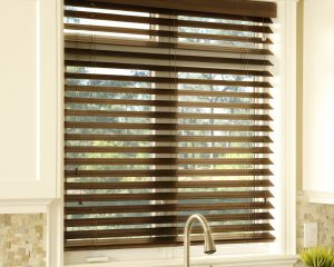 Blinds in Texas Kitchen