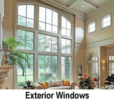 Exterior Window banner