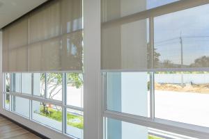 Large, custom windows. Starwood Distributors.