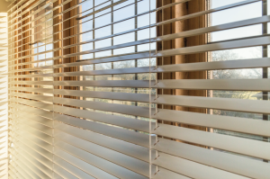 Open blinds in the daytime. Starwood Distributors.