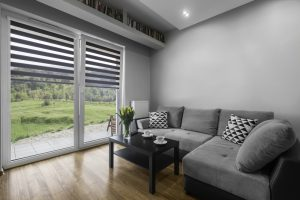Motorized window blinds are completely under your control.