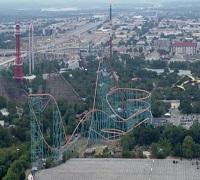 Six Flags Texas Amusement park